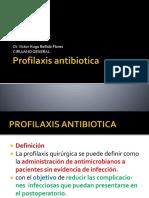 profilaxis antibiotica 2018