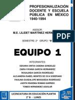 EL MODELO PEDAGÓGICO CONTEMPORÁNEO; EL PERIODO DE LA REFORMA