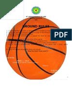 Barangay Basketball Rules