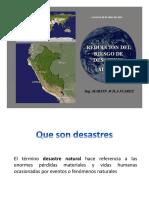 PONENCIA DE DESASTRES NATURALES
