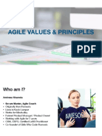 Intro to Agile Principles and Values