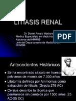Dr.amaro Litiasis Renal