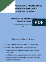 11 Unmsm - Explotacion de No Metalicos