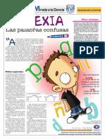 Una mirada a la dislexia