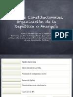 Formación de la República 1823 a 1830