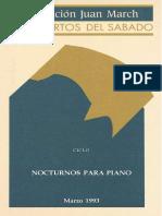 Análisis, Improvisación e Interpretación. Emilio Molina