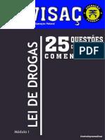 Revisaço - Lei de Drogas - Operação Federal - PRF, PF