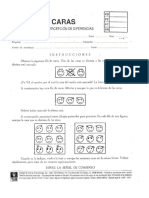 Protocolo Test Caras