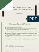 Historia de Las Relaciones Internacionales s