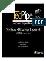 TecPipe Tuberías HDPE de Pared Estructurada