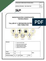 Taller N° 3 CNC PARA PCB