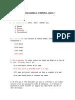 Español Grado 3