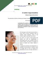 A Mulher Negra Brasileira - Walkyria Chagas Da SIlva Santos