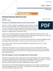 FBI Wants Backdoors Built Into the Net & the Blackberry 'Butterfly Effect'