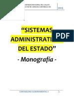 Sistemas Administrativos del Estado (Monografía).docx