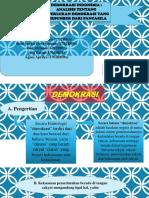 Analisis Demokrasi Pancasila