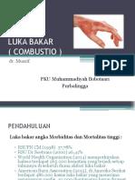 Dr Muarif Luka Bakar