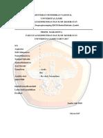Data Profil Mahasiwa