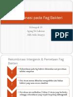 PPT Rekombinasi Pada Fag Bakteri