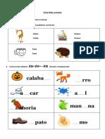 1º+BÁSICO+LENGUAJE+GUÍA+Y+SOLUCIONARIO++Nº+1+OCTUBRE