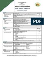 Budget of Work MUSIC5