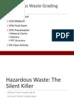 Week 1 Hazardous Waste