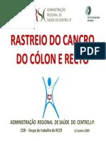 Rastreio Do Cancro Do Cólon e Do Recto (ARSCentro)