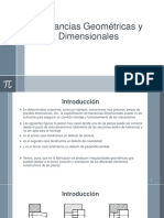 Tolerancias Geometricas y Dimensionales
