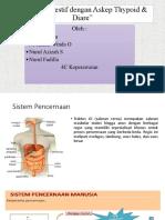patofisiologi sistem digestive dengan askep thypoid dan diare