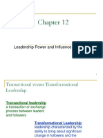 8. Leadership Power and Influence