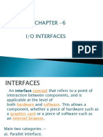 Chapter-6 IO Interfaces