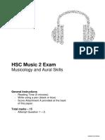 music 2 exam
