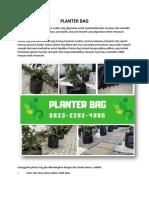HARGA TERJANGKAU. 0823*2292*4990. Jual planter bag tanaman di Lampung, Agen Planter Bag Murah, Harga planter bag 100 Liter di Lampung