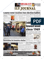 San Mateo Daily Journal 11-02-18 Edition