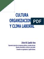 Cultura Organizacional y Clima Laboral
