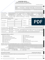 Reimbursement Claim Form