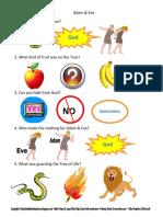 2. Adam & Eve Fisa de Lucru