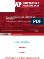 Semana 1 - Naturaleza y El Ambiente Del Marketing