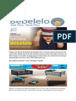 Bebelelo Starting Kit for Babies in Quebec
