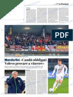 La Provincia Di Cremona 03-11-2018 - Mandorlini