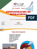 Semana 7 - Organizacion de Trasportes
