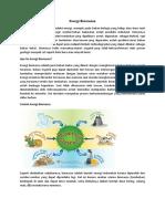 Energi Biomassa