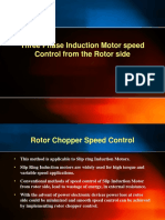 Rotor Chopper Speed Control