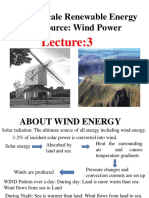 Lecture 3 Wind Energy GEH1034