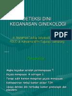 Deteksi Dini Keganasan Ginekologi-dr.taufiqy