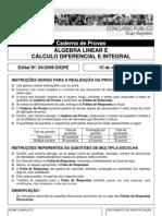 Professor_Algebra Linear e Calculo Diferencial e Integral