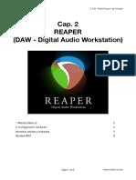 002 apuntes sobre Reaper - Menus Básicos, Configuracion de Audio y MIDI
