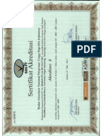 Akreditasi PGSD B