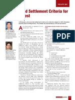 Rationalised Settlement Criteria for Pile Load Test