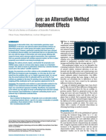 Evaluation of Scientific Publications - Part 23 -Propensity score - An alternative method of analyzing treatment effects.pdf
